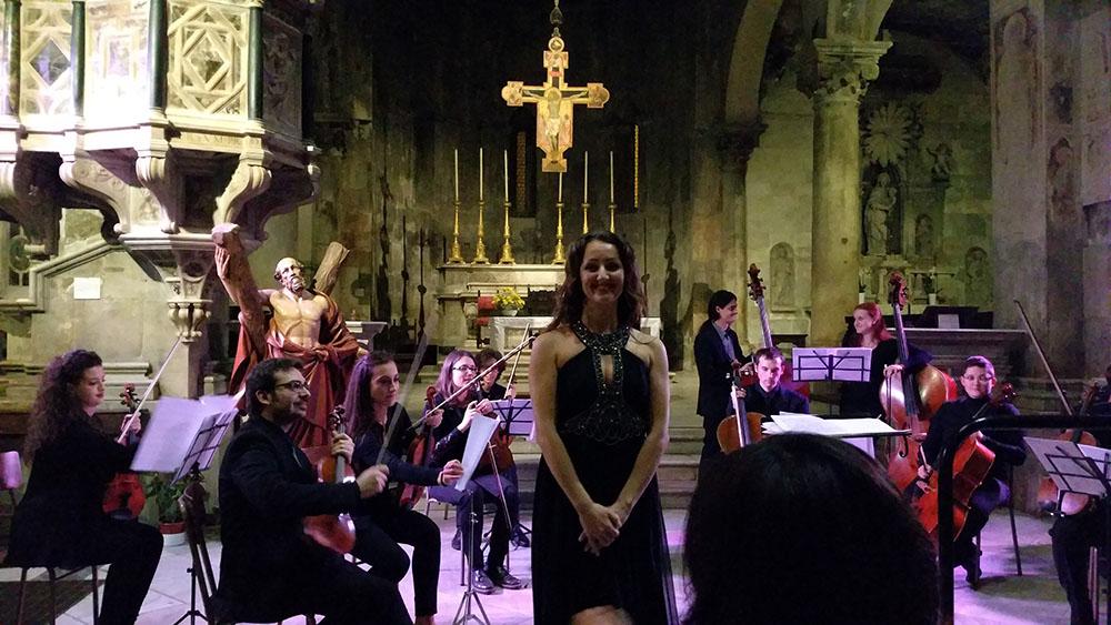 concerto di ESE Chamber Orchestra