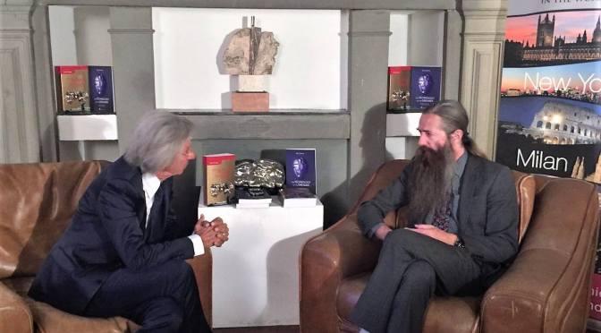 Aubrey de Grey ospite d'onore alla cena degli Alumni ESE a Firenze