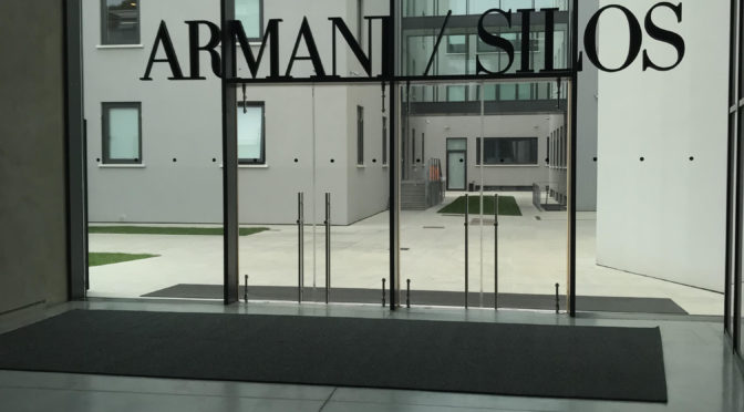 History and culture in the temple of 'King Giorgio': the ESE students visit Armani Silos